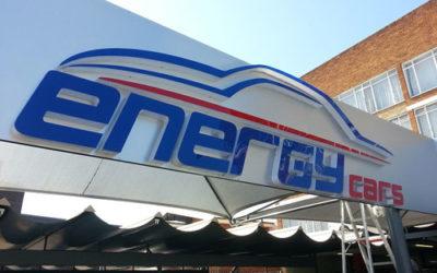 Energy Cars Signage