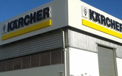 Karcher 3D Signage in Vorna Valley